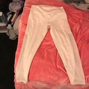 Arie cream leggings